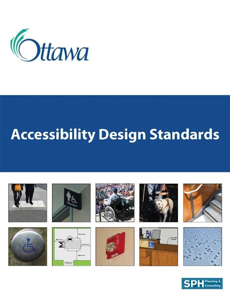 design guidelines ottawa special projects studies and consultation sph associates