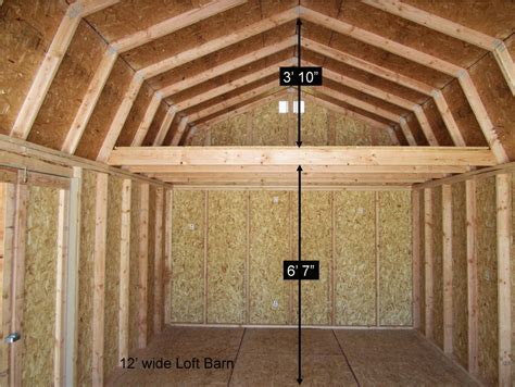 barn plans with loft better built barns loft barns better built barns