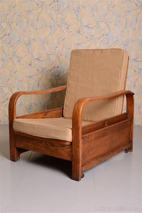 heals armchair heals oak reclining reading armchair antiques atlas