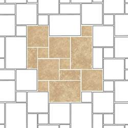 french pattern layout tiles melanger travertine tiles 1 sq metre mixed sizes tiles