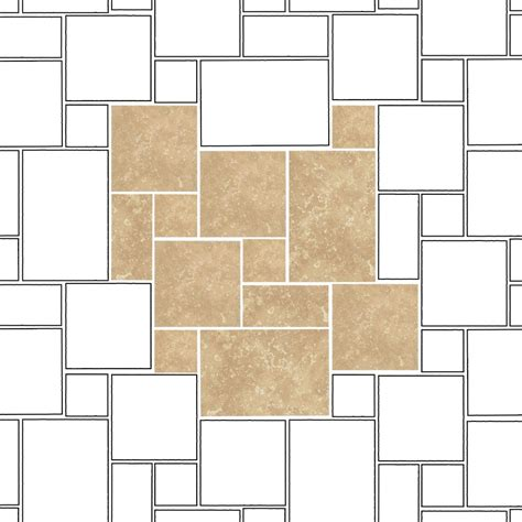standard pattern works erie pa mixed size tile patterns 28 images pavers stone