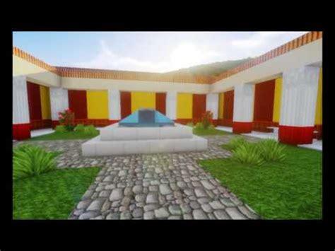 domus romana roman house minecraft project