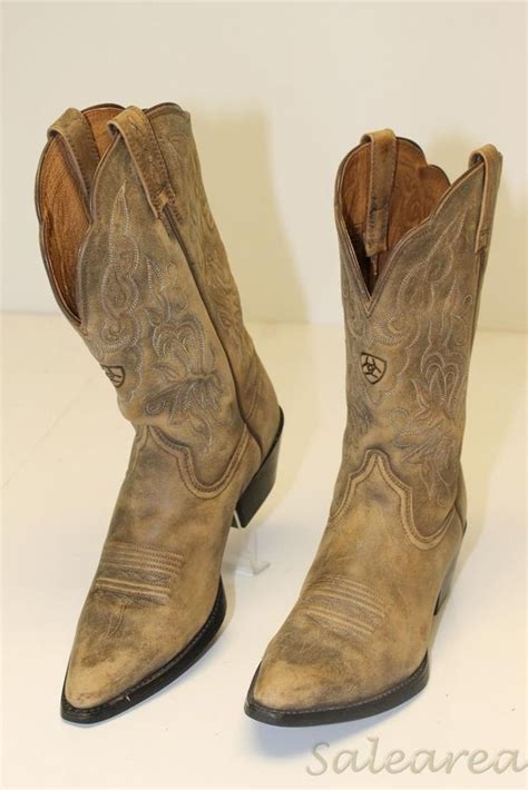 ariat womens 15729 quot heritage western quot 8 b 39 distressed