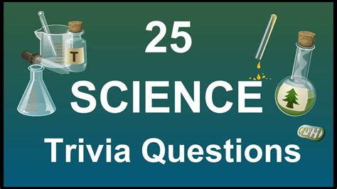 quiz questions youtube 25 science trivia questions youtube