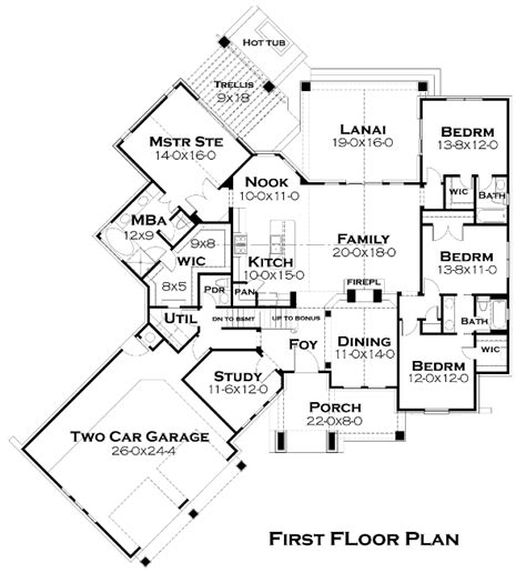 Cottage House Plan With 4 Bedrooms And 3 5 Baths Plan 5252 Dfd House Plans