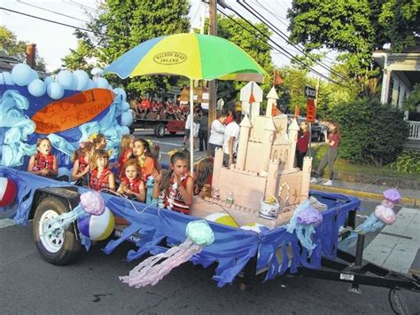 themes for carnival floats with a theme of seaside paradise the floats and parade