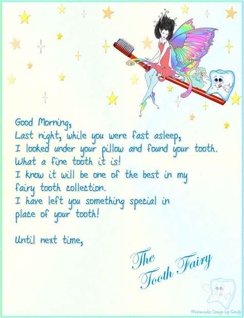 tooth fairy letter momma s girls x2 5 pinterest