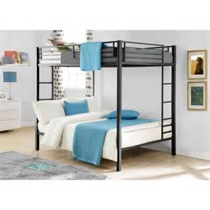 Cheap Bunk Beds Walmart Dorel Full Over Full Metal Bunk Bed Multiple Finishes