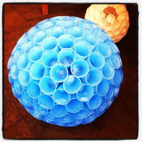 Diy Chandeliers Plastic Cup Chandelier I