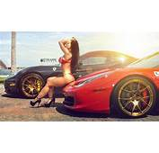 Photo Collection Cars With Hot Girls