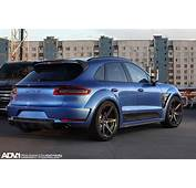 ADV1 Wheels Porsche Macan Tuning Wallpaper  1500x1000
