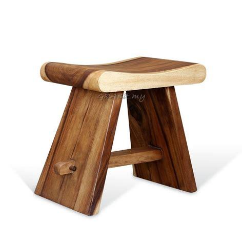 rain tree japanese stool wood stool bench  seating living