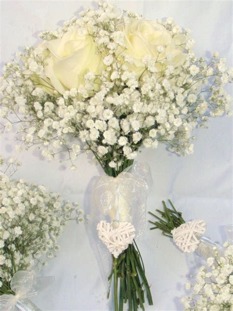 Wedding Bouquet Gypsophila by Wedding Florist Haywards Heath Burgess Hill Sussex