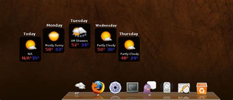 awn weather the linux movement update to awn weather applet