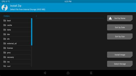 custom recovery android how to install a custom rom using twrp recovery