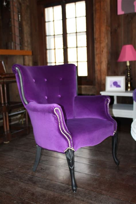 images  chairs  pinterest furniture purple velvet  club chairs