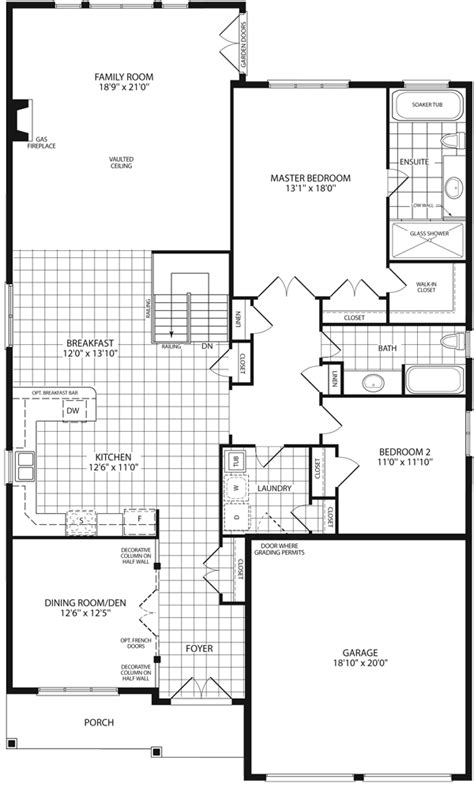 grandview homes floor plans gregory ii 2 110 sq ft grandview homes