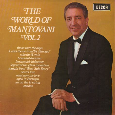 mantovani and his orchestra mantovani and his orchestra the world of mantovani vol