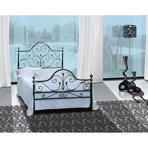spalliere letto in ferro battuto letto una piazza e mezzo in ferro battuto fenice viadurini