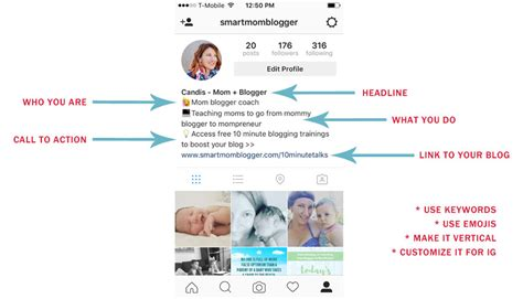 Bio Layout Template Instagram | 150 best practices to get more out of instagram s 1 54