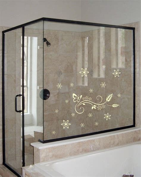 Shower Door Decals by Shower Door Vinyl Decal 3 Eclectic Wall Decals By