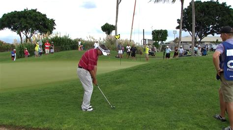 tom pernice golf swing pacific links hawai i chionship round 2 recap golf