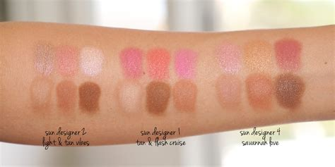 by terry sun designer palettes review photos swatches allura by terry sun designer palette savannah love the beauty