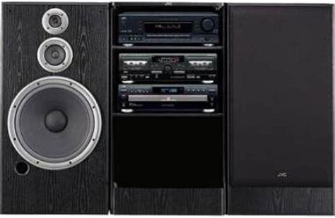 Stereo Component Rack Systems by Jvc Gx8880a Component Rack System System Includes Rx5060 Receiver Xlfz258 5 Disc Cd Changer