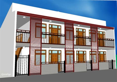 2 storey apartment floor plans philippines residential by kristin rodrigo at coroflot com