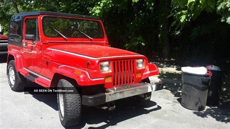 Jeep Wrangler Laredo 1989 Jeep Wrangler Laredo Sport Utility 2 Door 4 2l