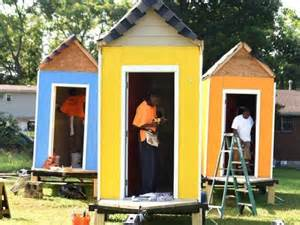 First Texas Homes Floor Plans homeless man jumps for joy over new tiny house