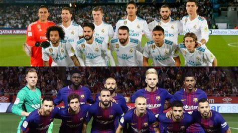 imagenes real madrid y barcelona real madrid vs fc barcelona 191 cu 225 nto vale cada equipo