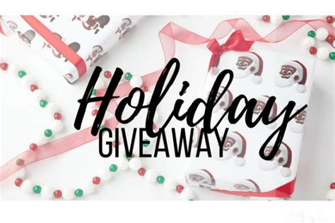 Holiday Giveaway - holiday giveaway day 1 baby shopaholic
