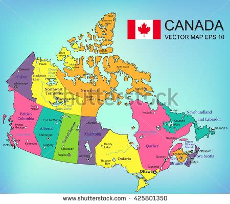 map of canada and provinces and territories canada map with provinces www pixshark images