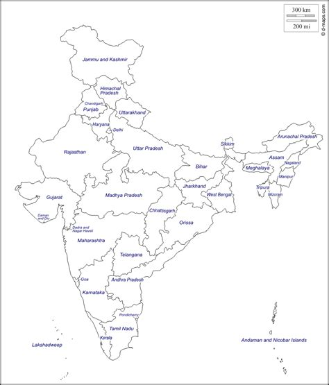 printable india map political free coloring pages of india political outline