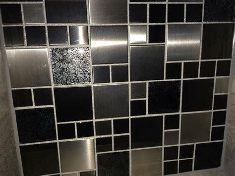 How To Do A Kitchen Backsplash silver glitter grout tilersforums co uk professional