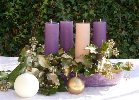 colore delle candele dell avvento il di susanna centrotavola dell avvento con le candele