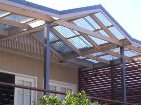 roof patio polycarbonate roof panels homesfeed