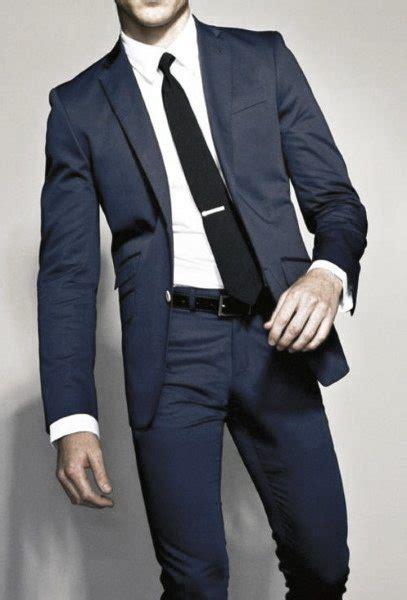 Navy Styles by 90 Navy Blue Suit Styles For Dapper Fashion Ideas