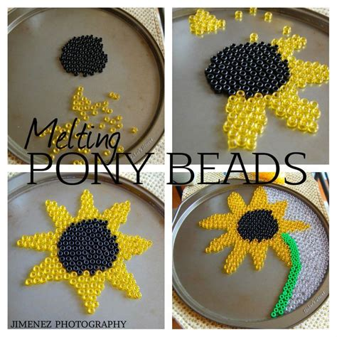 how to make things out of pony 25 best ideas about melted bead crafts on