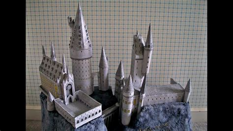 Hogwarts Castle Papercraft - papercraft harry potter titanic paper model