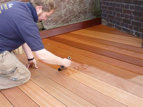 ipe deck care and maintenance