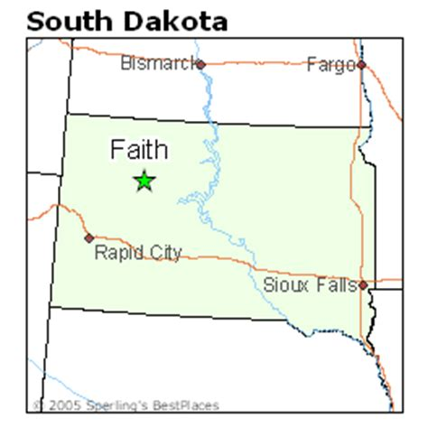 best places to live in faith, south dakota