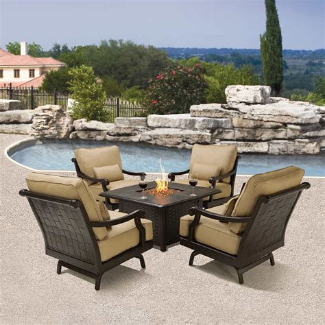 patio tables with pits pit conversation patio furniture modern patio outdoor