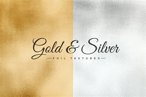 silver pattern overlay photoshop gold silver foil textures medialoot