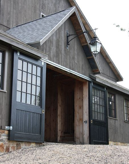 Barn Door Garage Door Best 25 Exterior Barn Doors Ideas On Diy Exterior Sliding Barn Door Exterior