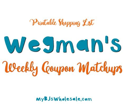 Wegmans Other Gift Cards - the weekly coupon matchups for wegmans 3 5 3 11