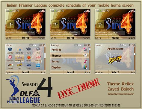nokia c3 themes league of legends ipl 4 schedule live theme for nokia c3 x2 01 themereflex