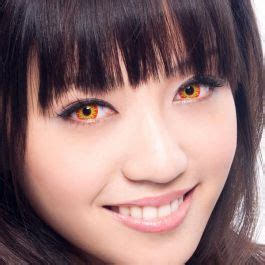 geo crazy halloween contact lenses sf 02 flame