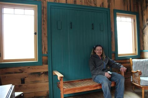 relaxshacks com awesome homemade murphy bed at blue moon